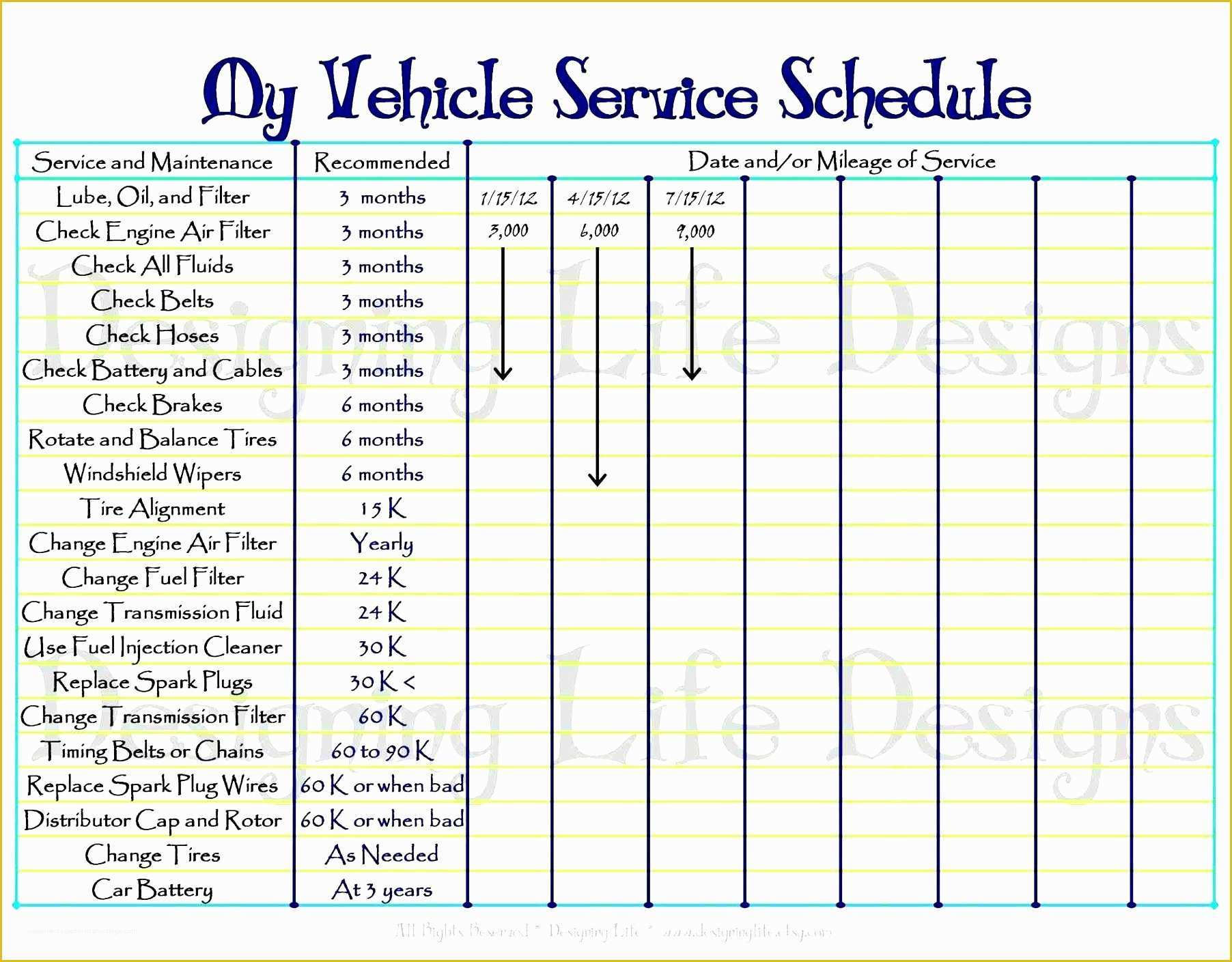Free Truckers Log Book Template Of 6 Vehicle Mileage Log For Free Sampletemplatess
