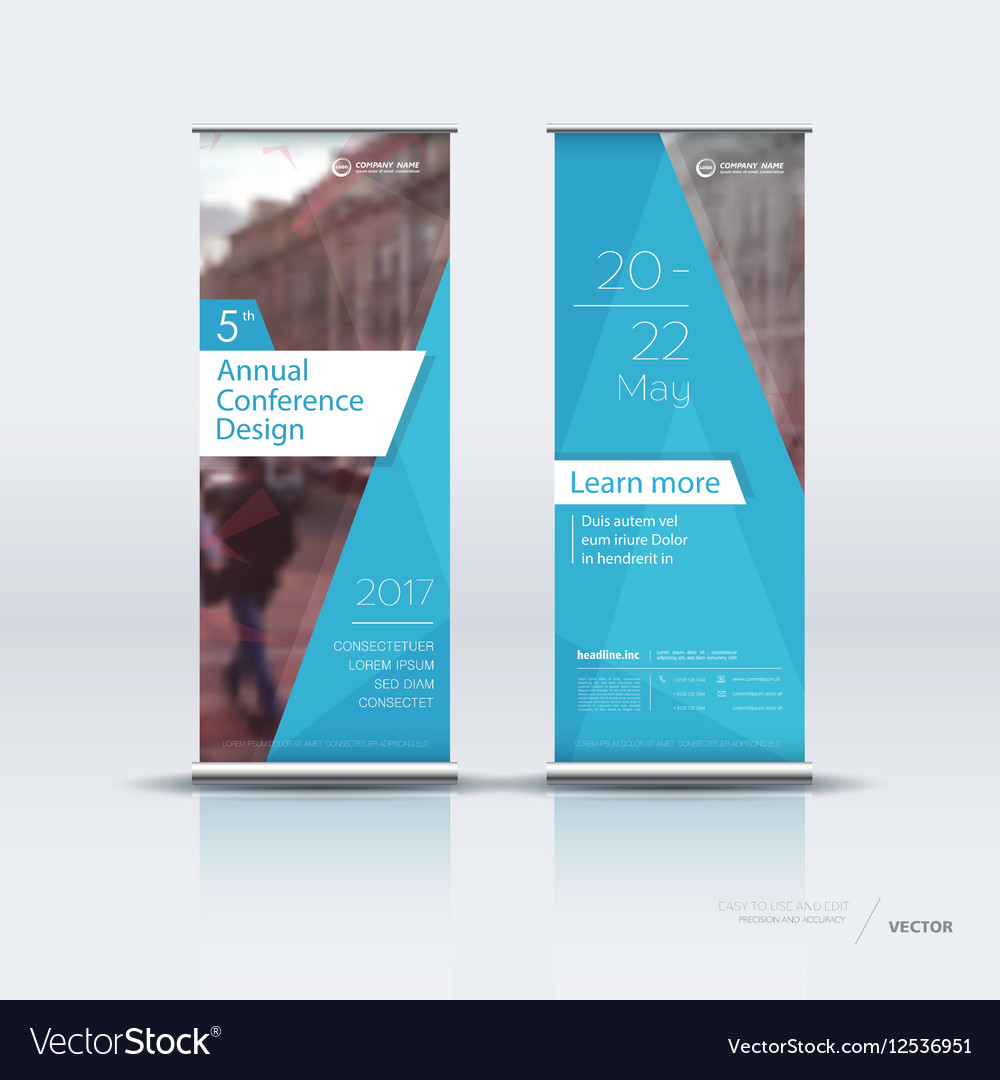Vertical Banner Template Free