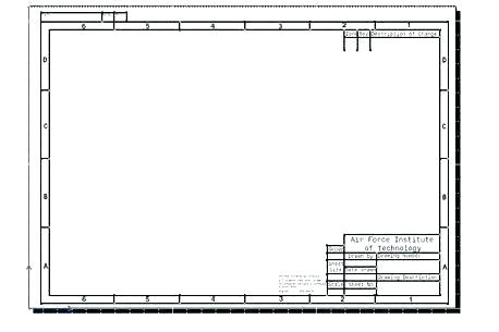 Visio Engineering Drawing Template