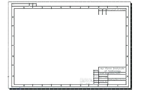 Visio Engineering Drawing Template