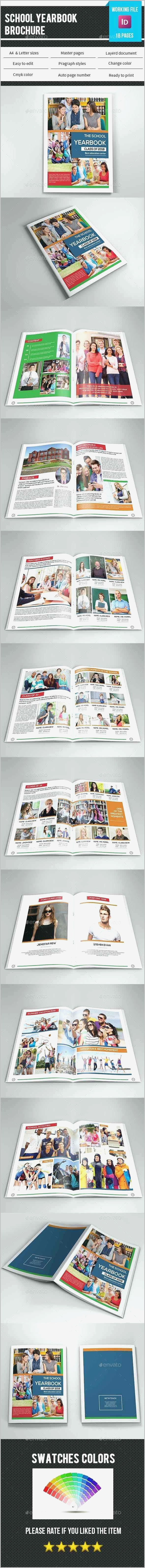 Yearbook Template Indesign Free