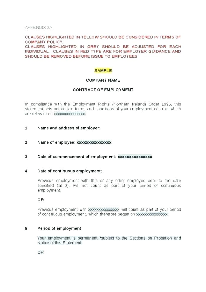 1099 Contract Template