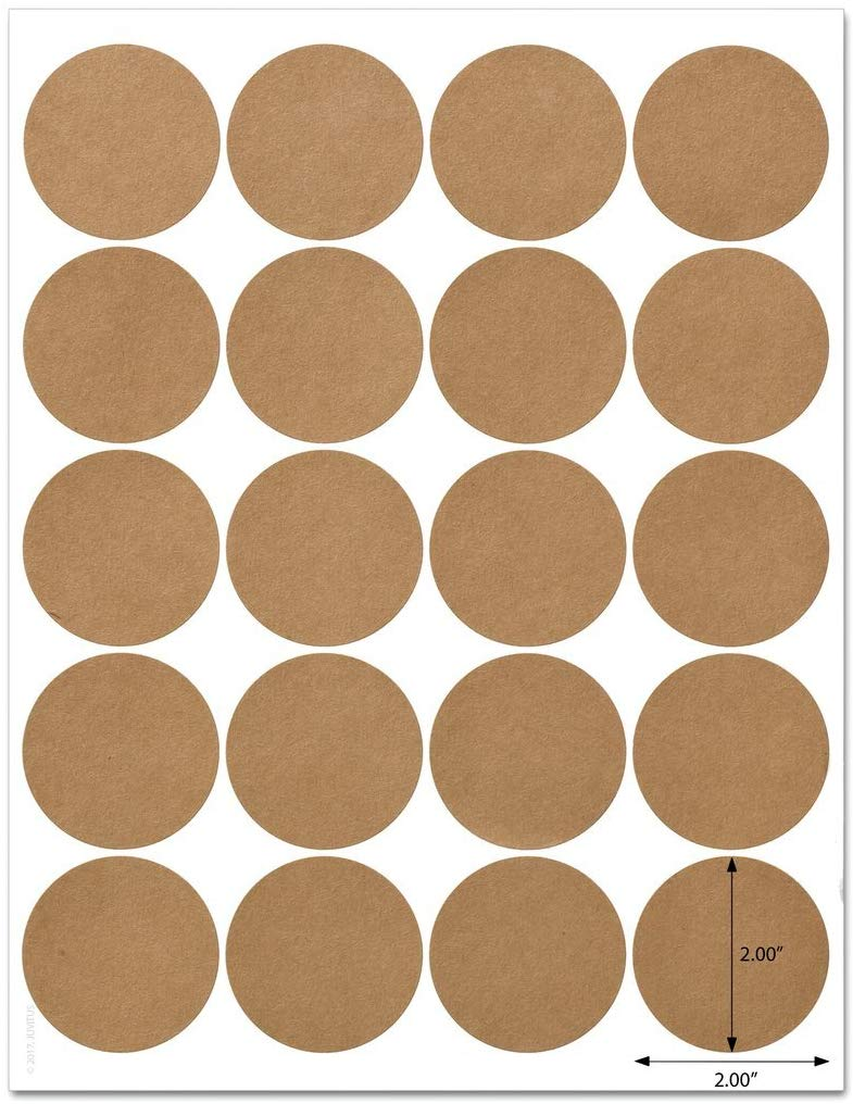 2 Inch Circle Labels Template