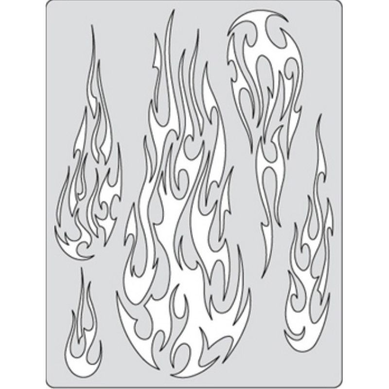 Airbrush Templates Stencils