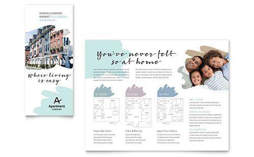 Apartment Brochure Templates