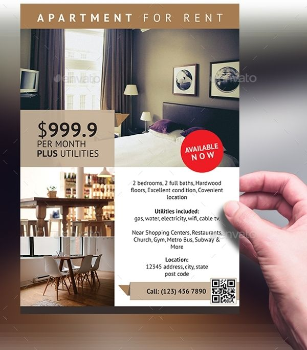 Apartment Flyer Templates Free