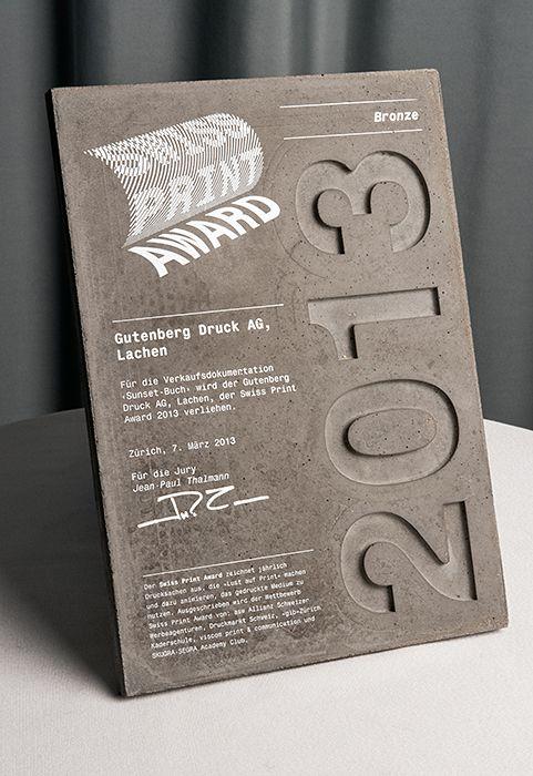 Award Plaque Design Template