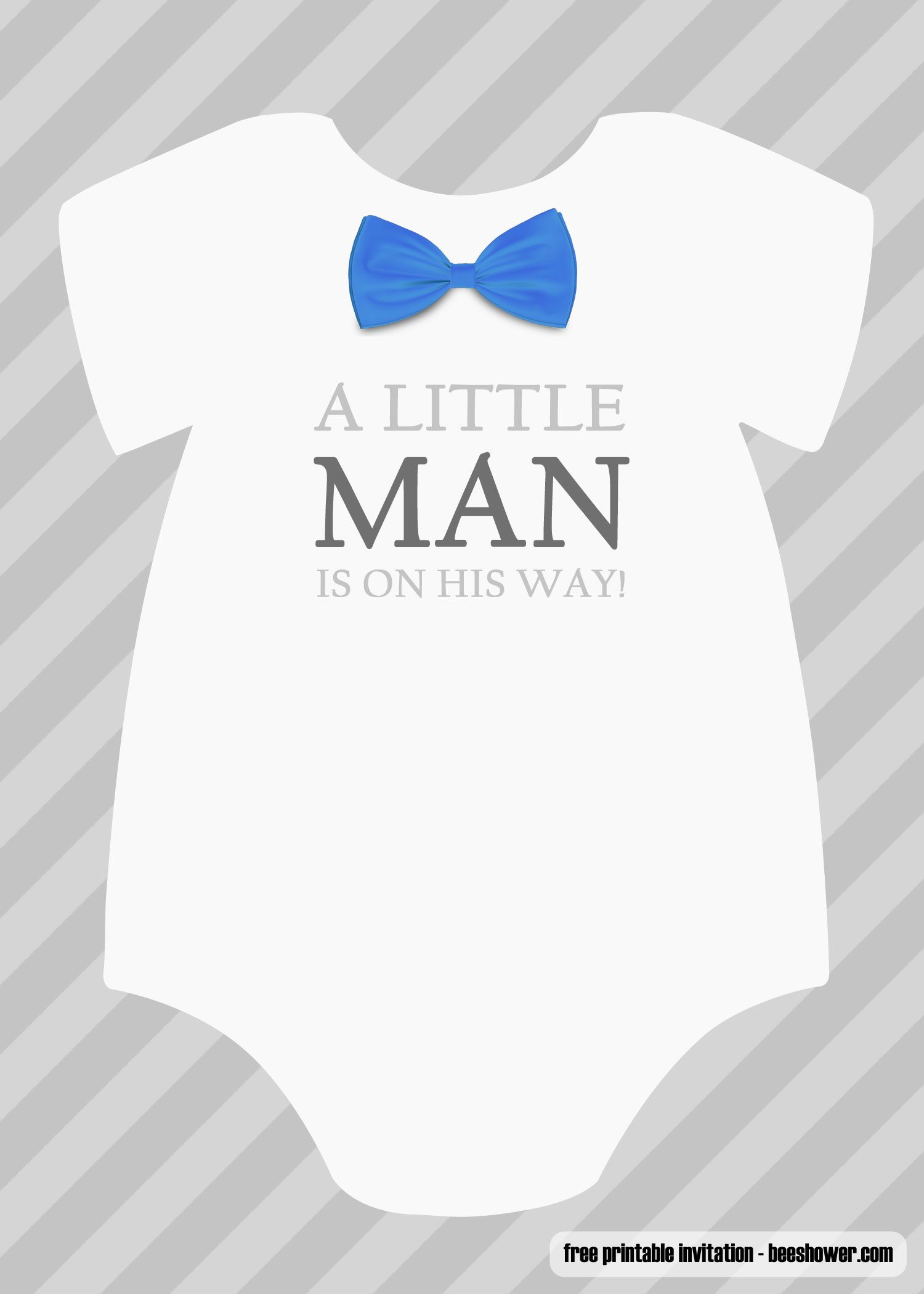 Baby Boy Baby Shower Invitations Templates Free