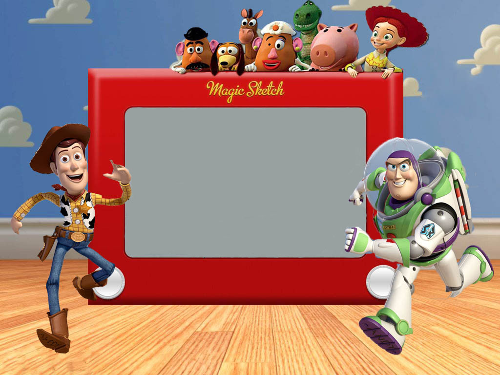 Blank Toy Story Birthday Invitations Template Free