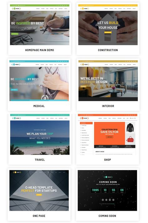 C Website Templates