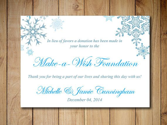 Charity Donation Card Template