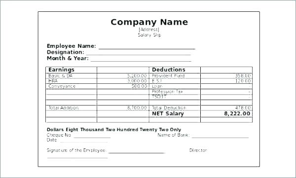 Charity Donation Cheque Template