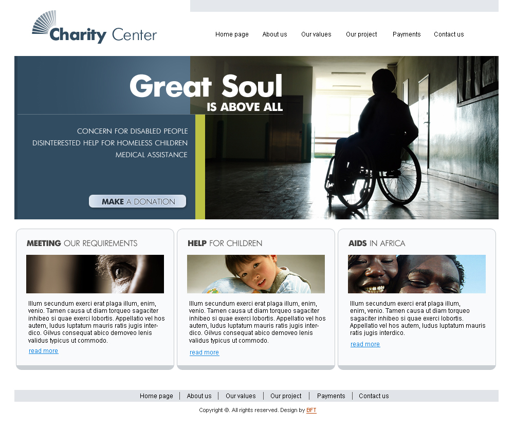 Charity Website Templates Free Download