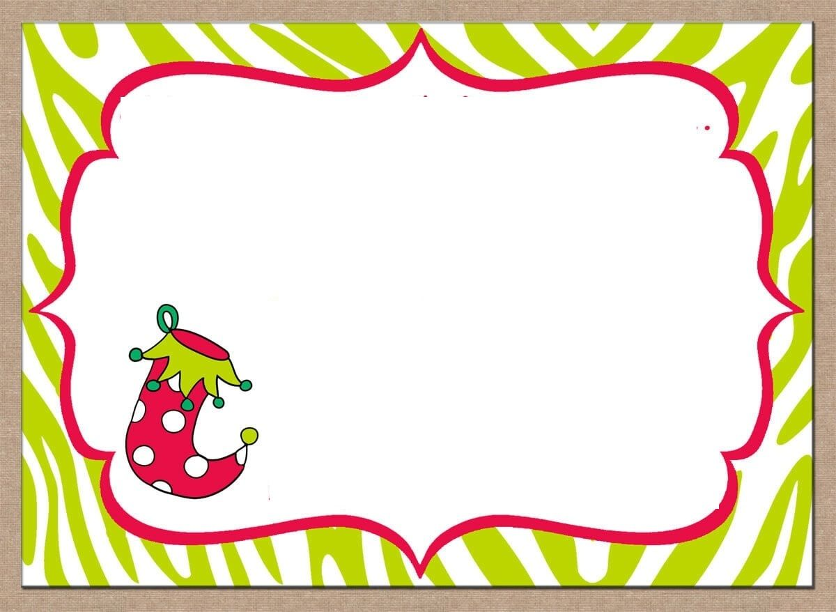 Christian Christmas Invitation Templates