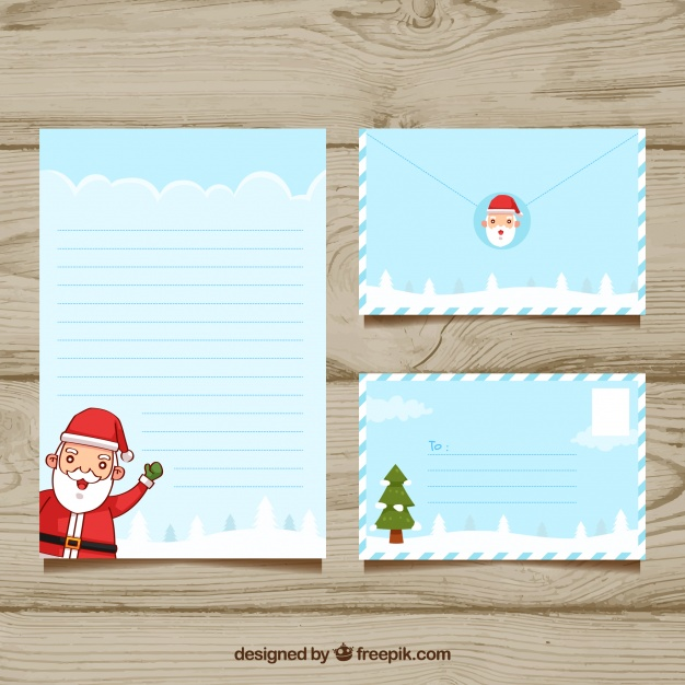 Christmas Templates For Envelopes