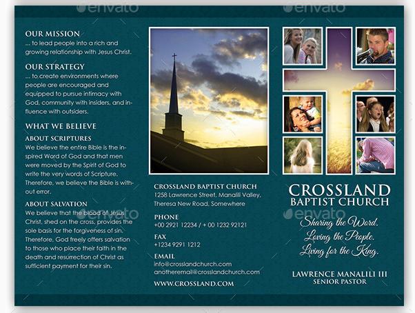 Church Brochure Templates Free