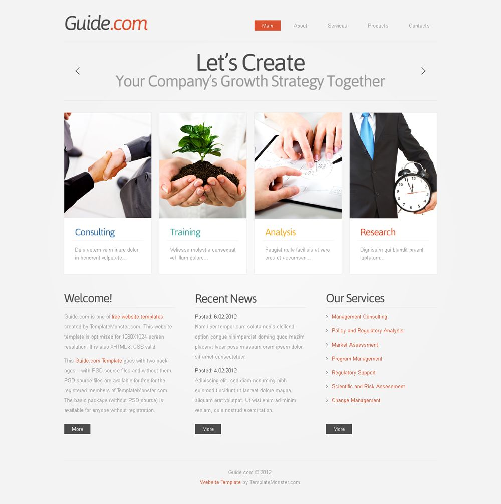 Coaching Websites Templates