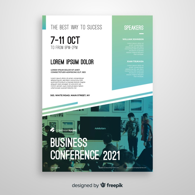 Conference Flyer Template Free