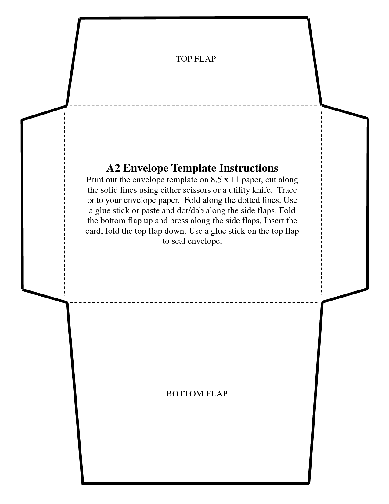 Custom Envelope Template