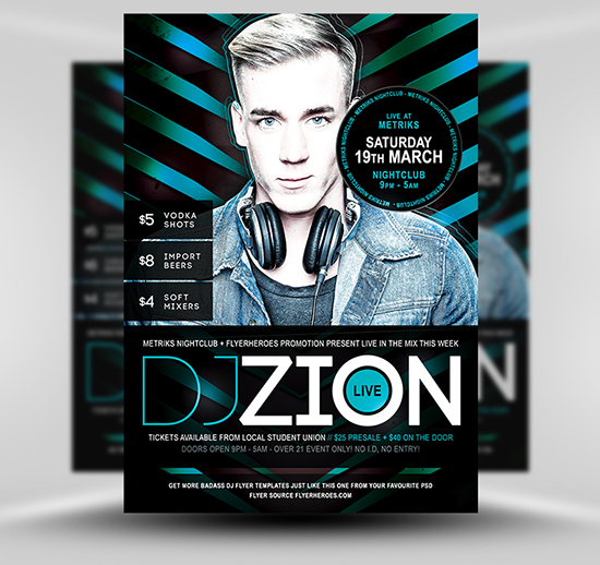 Dj Flyers Templates Free