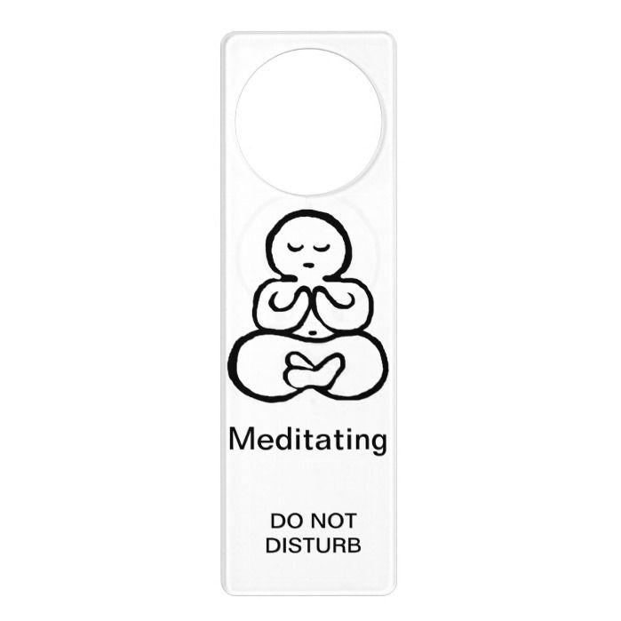 Do Not Disturb Door Hanger Template