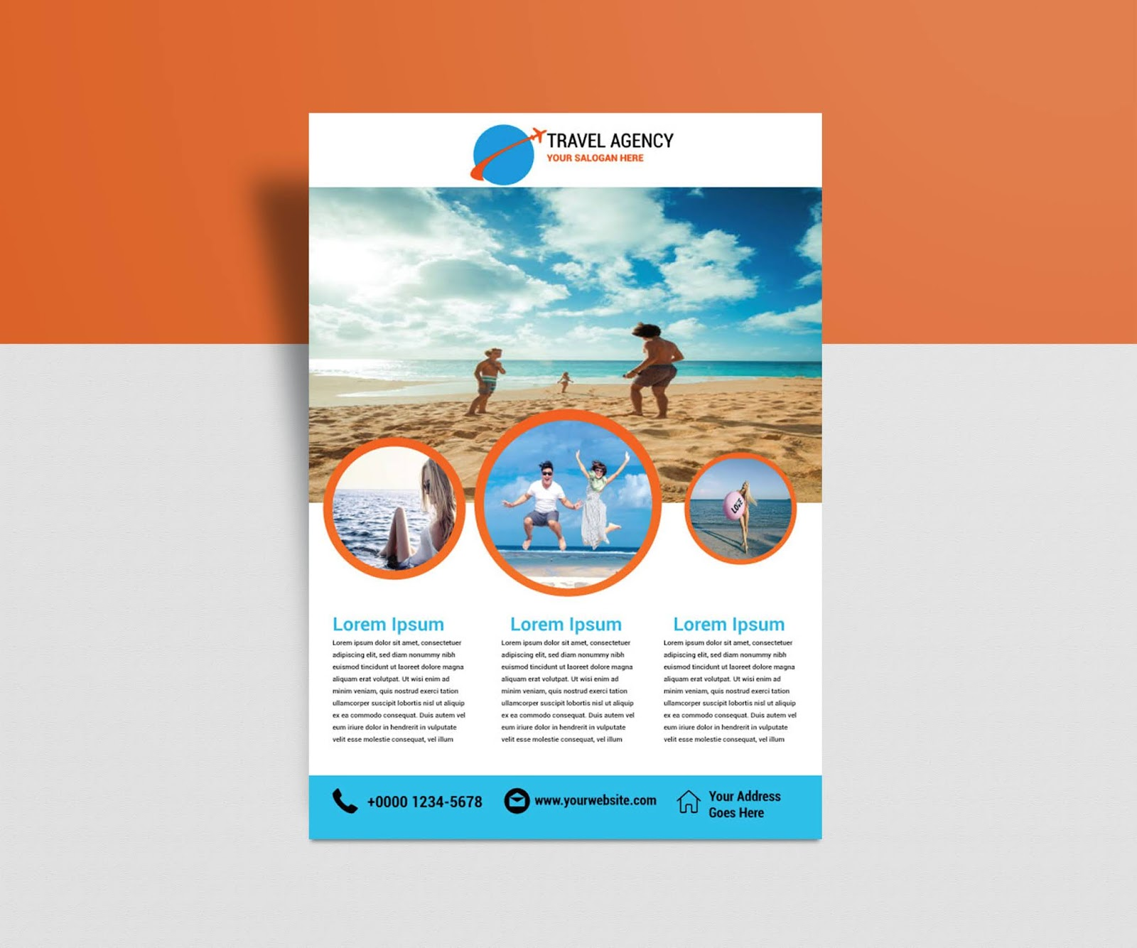Downloadable Free Printable Brochure Templates
