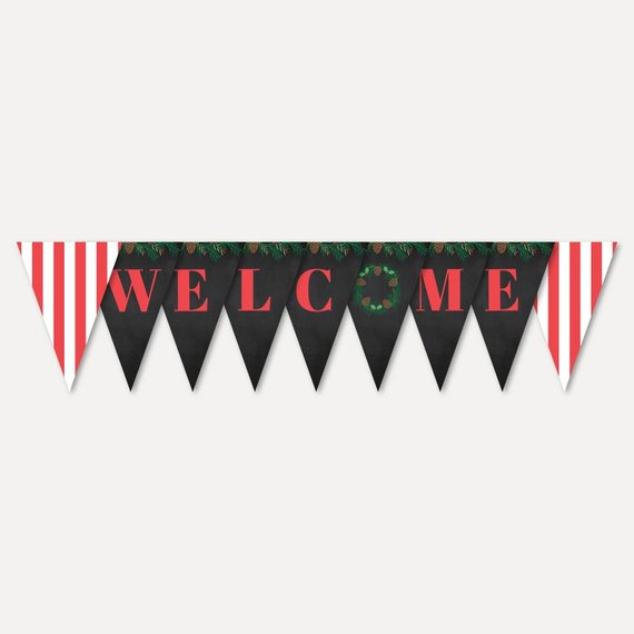 Editable Christmas Party Banner Template