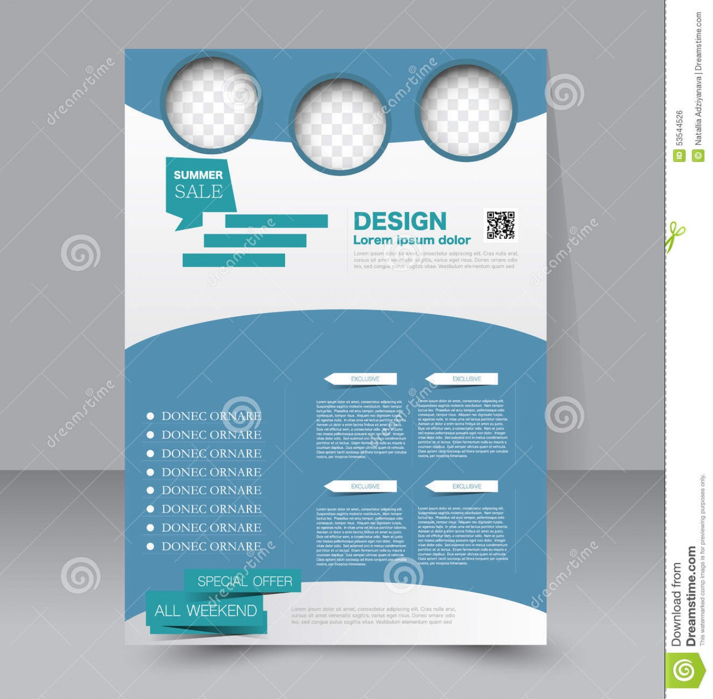 Editable Flyer Design Templates Free Download