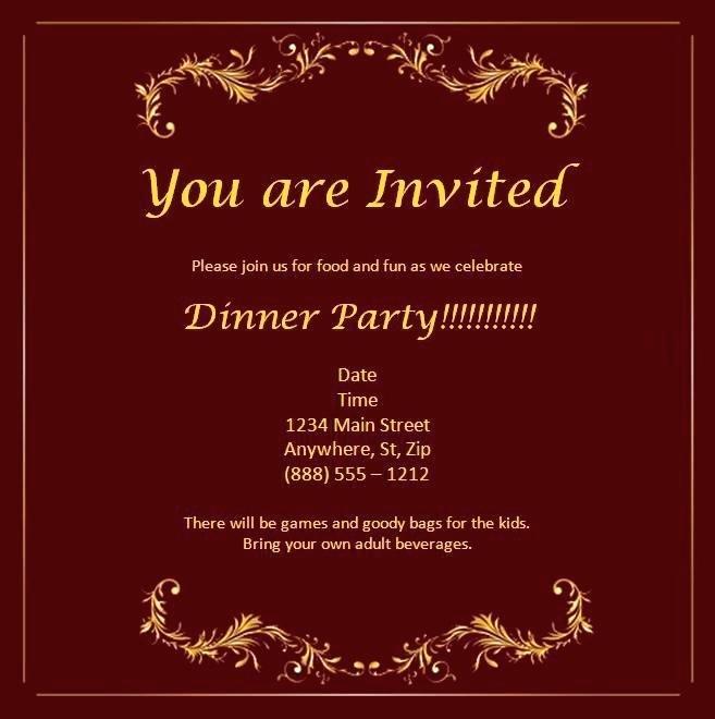 Editable Free Anniversary Invitation Templates