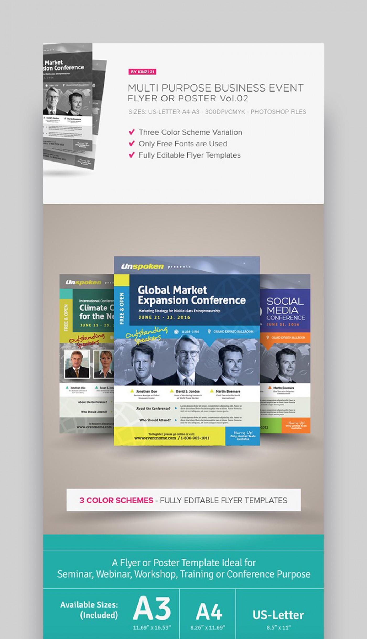 Editable Free Printable Brochure Templates