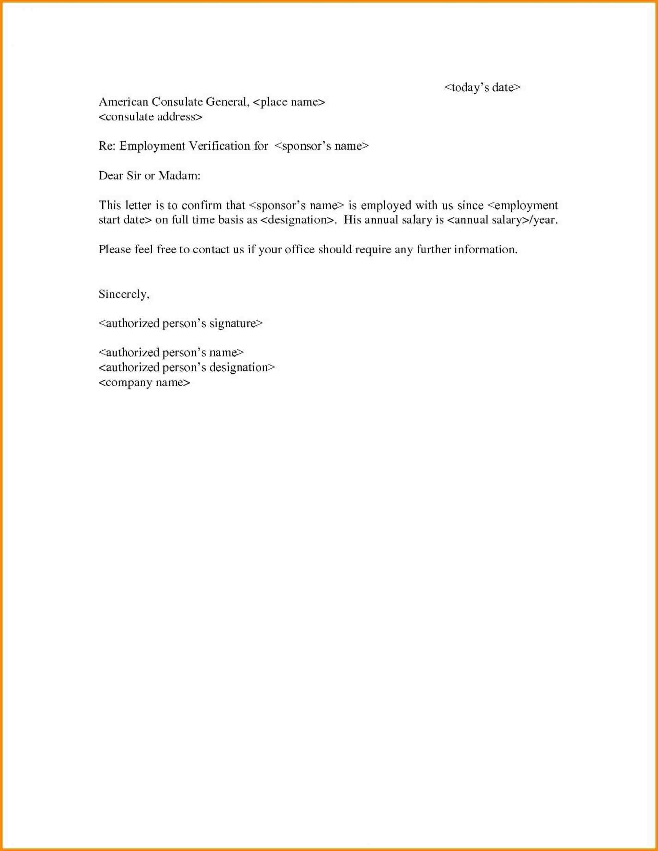 Employee Verification Template