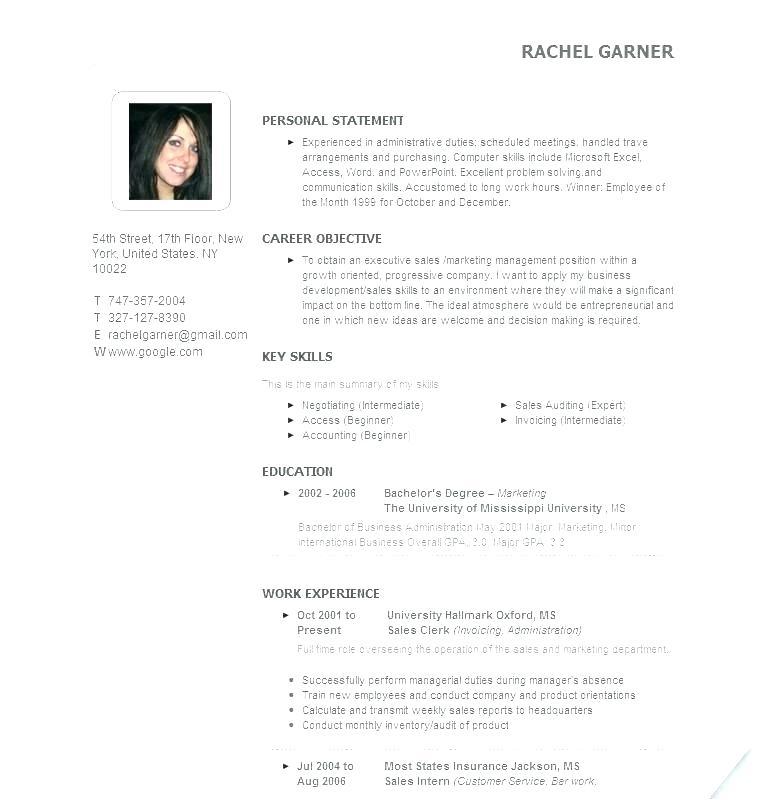 Entrepreneur Resume Template Word