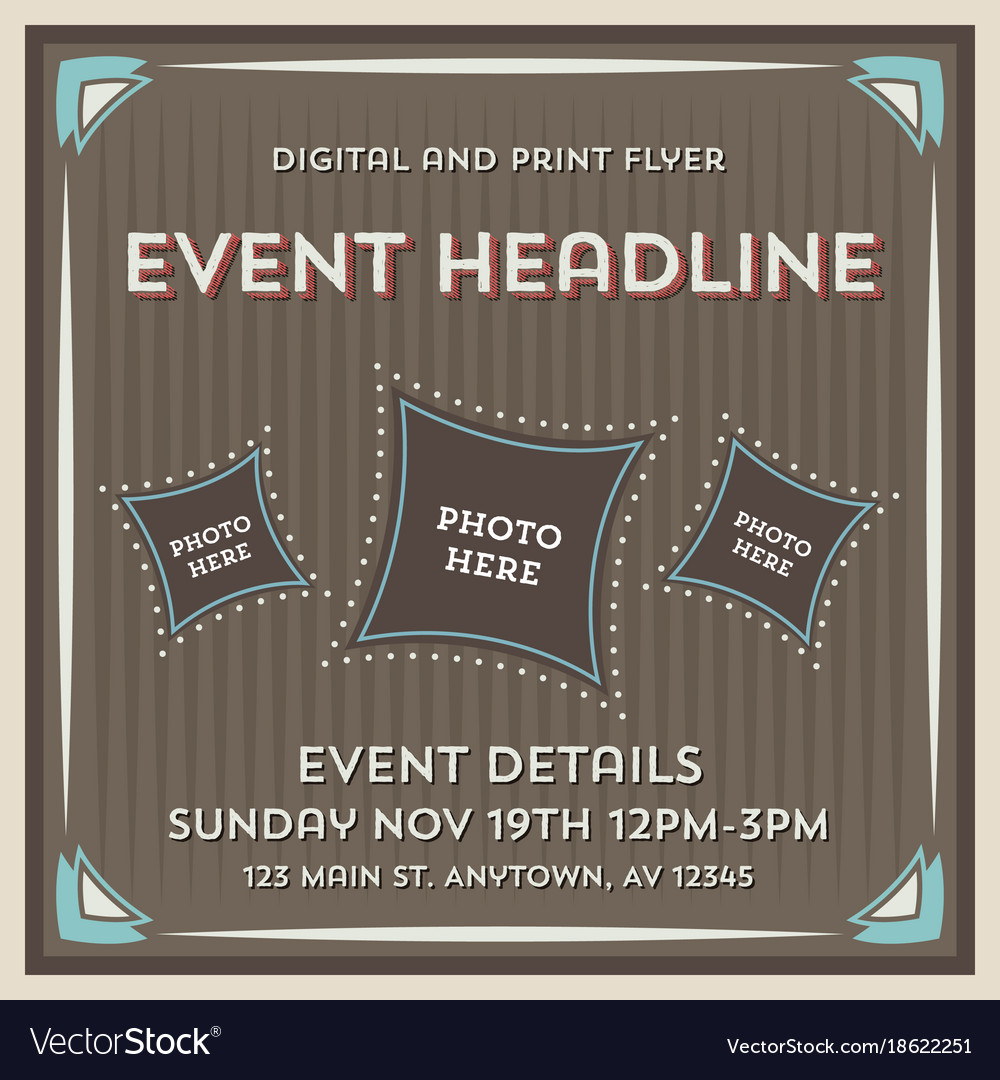 Event Flyer Flyer Background Template