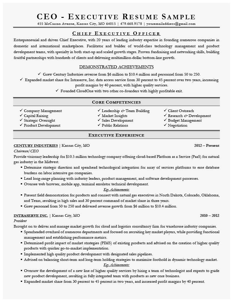 Best Executive Resumes Pleasant Functionalesume For Over Cv Template Modern Templates