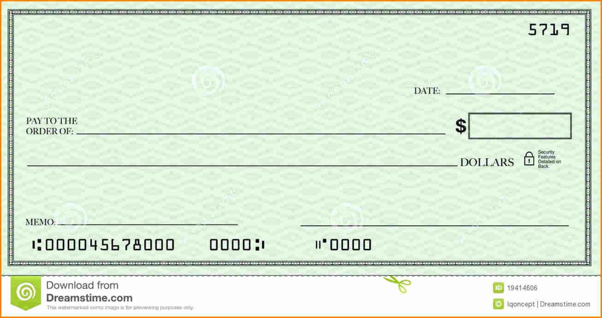 Fillable Blank Check Template Pdf