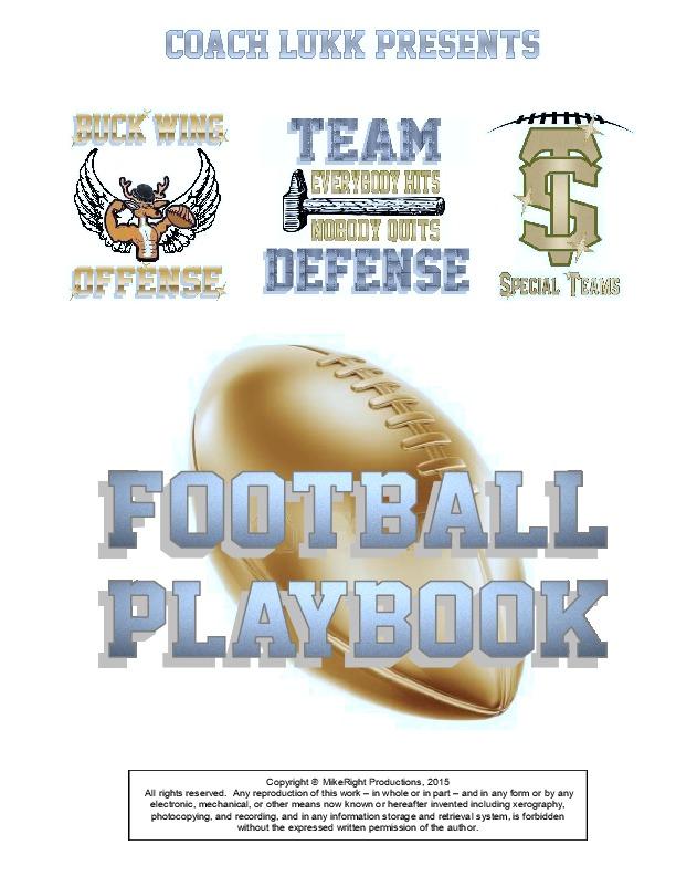 Football Playbook Template Pdf