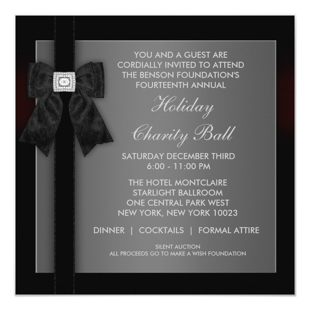 Formal Event Invitation Templates