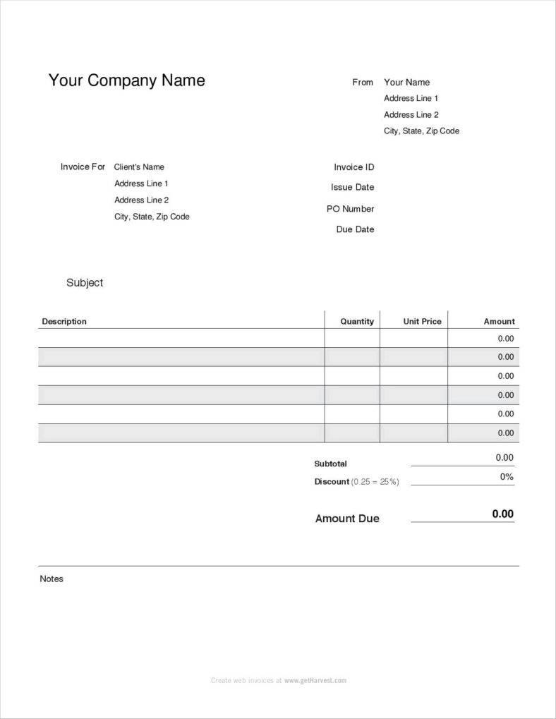 Free 1099 Pay Stub Template Pdf