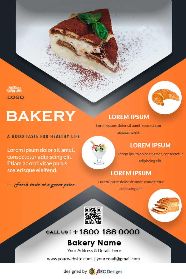 Free Bakery Flyer Design Templates