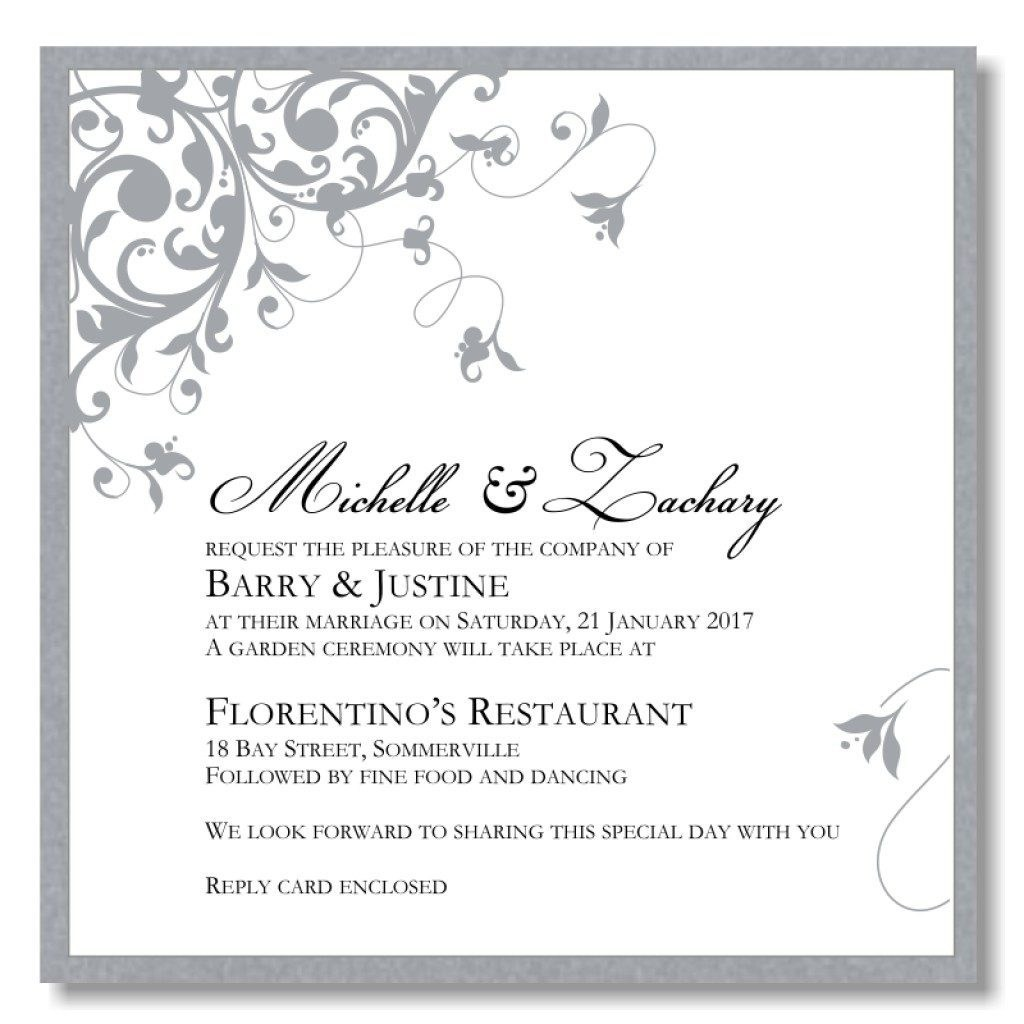Free Printable Wedding Invitation Templates For Word Wedding Invitation Templates Word With Pretty Invitations For
