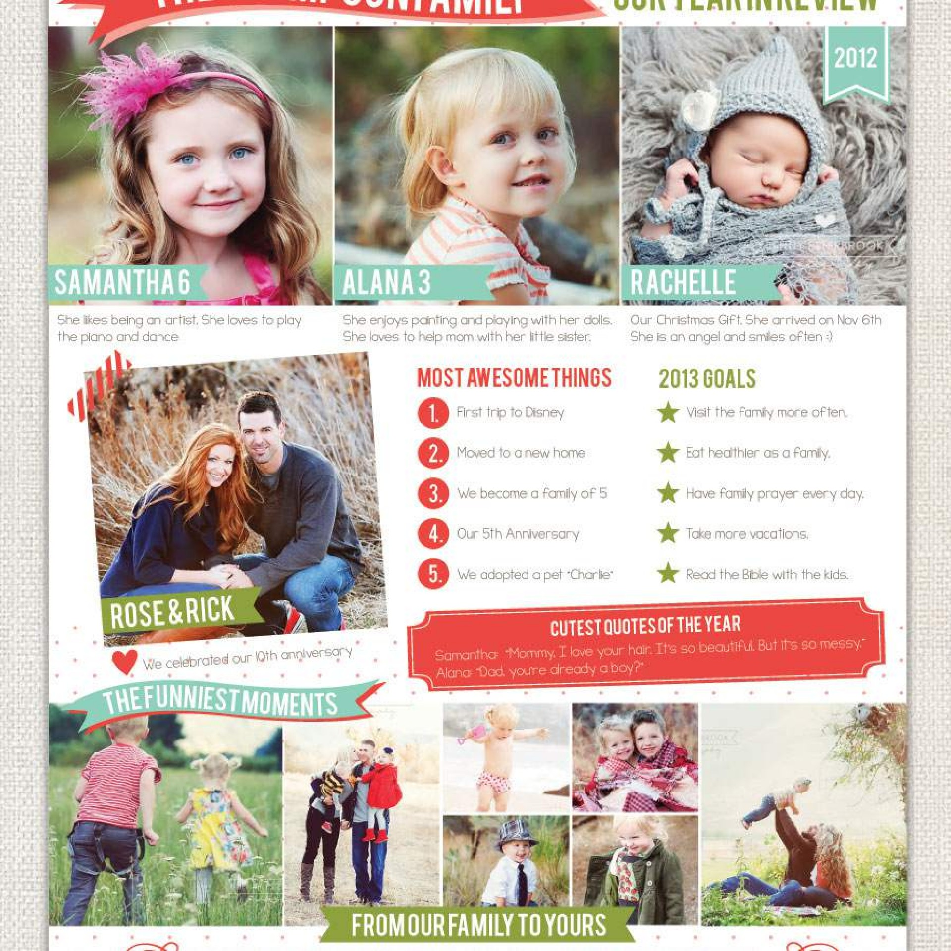 Free Christmas Newsletter Template Microsoft Word