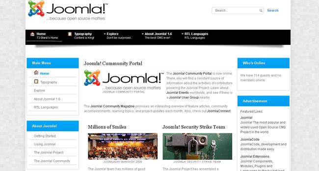 Free Joomla Templates 30
