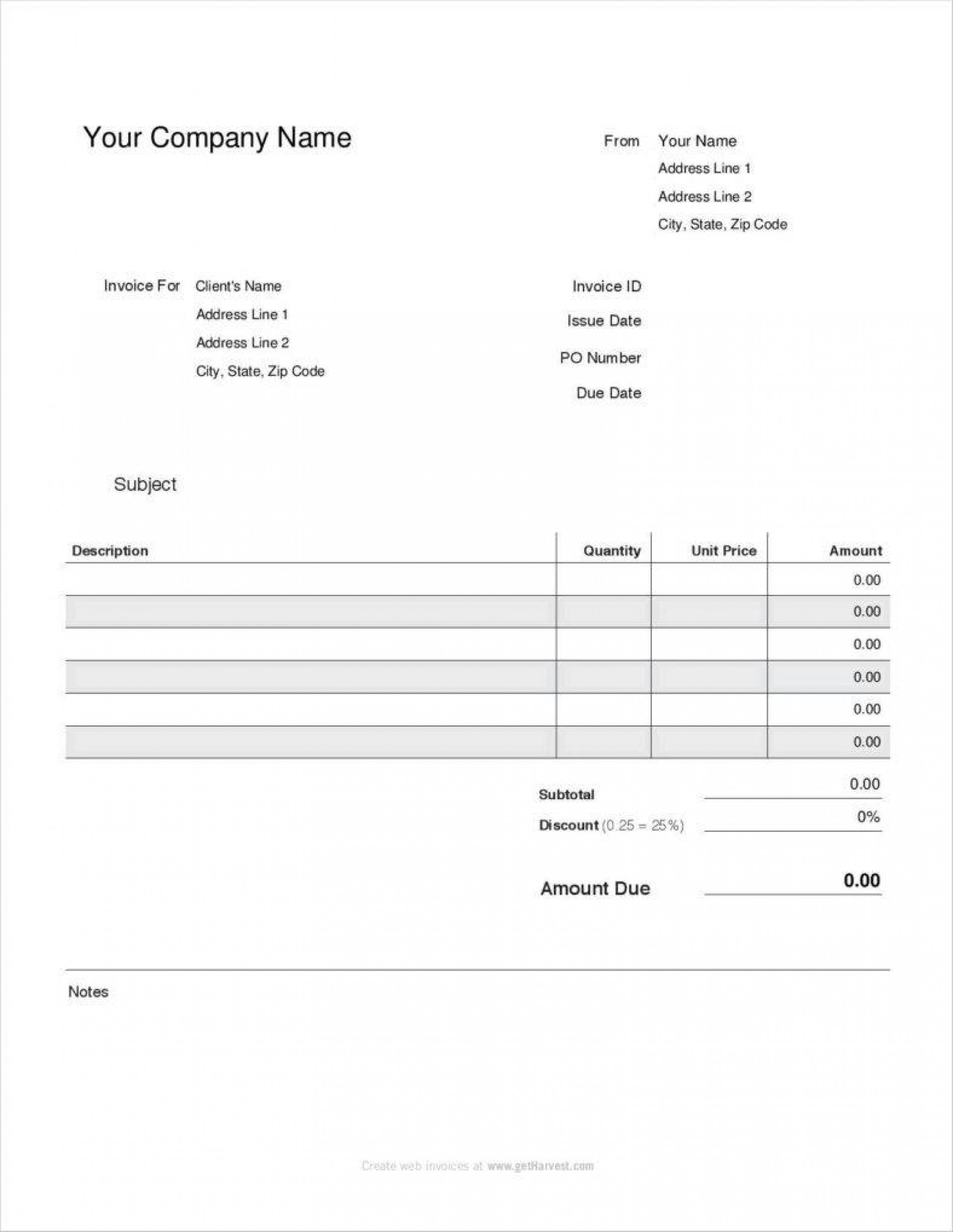 Free Payroll Stub Template Downloads
