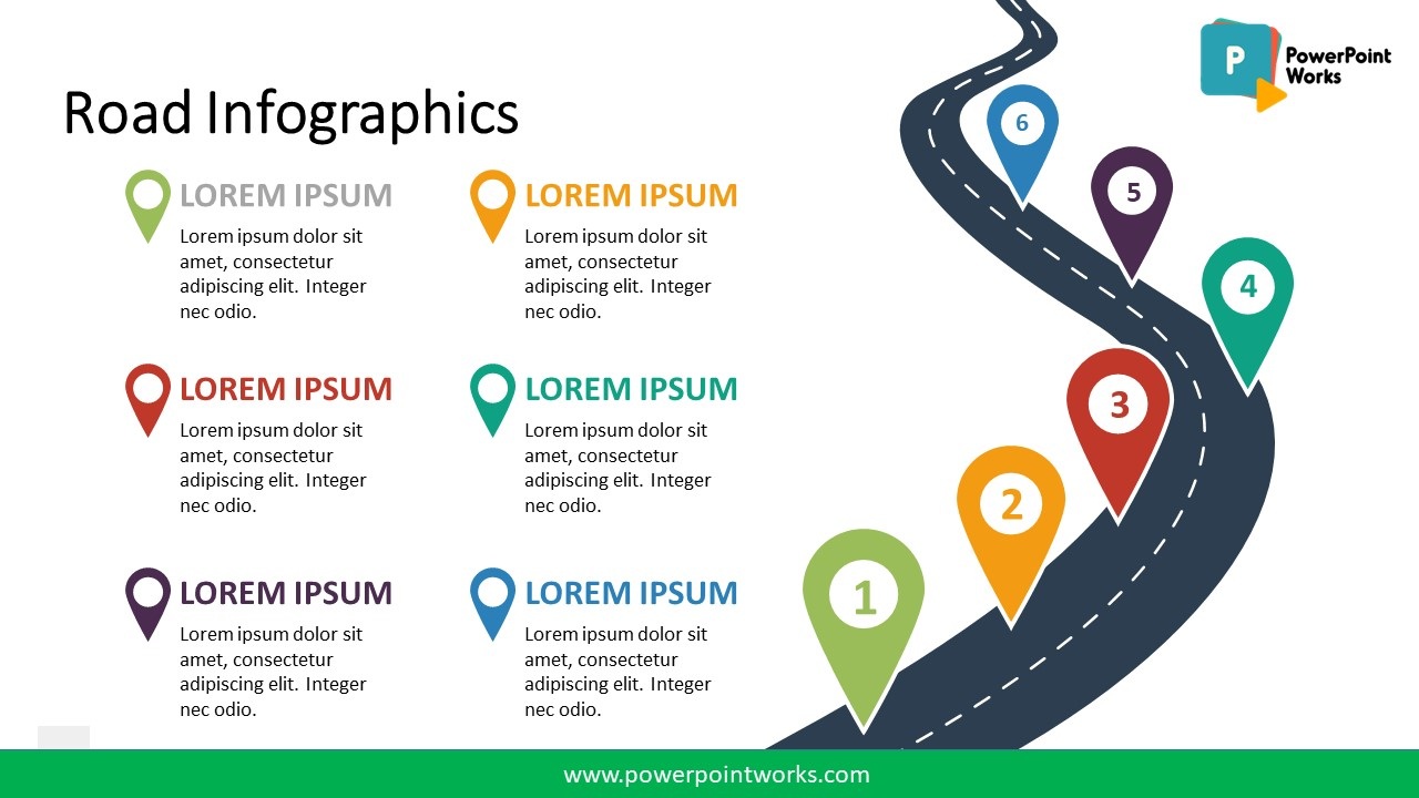 Free Powerpoint Templates Roadmap Timeline
