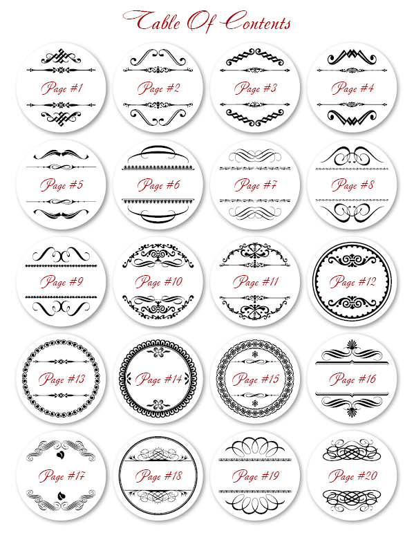 Free Round Label Templates