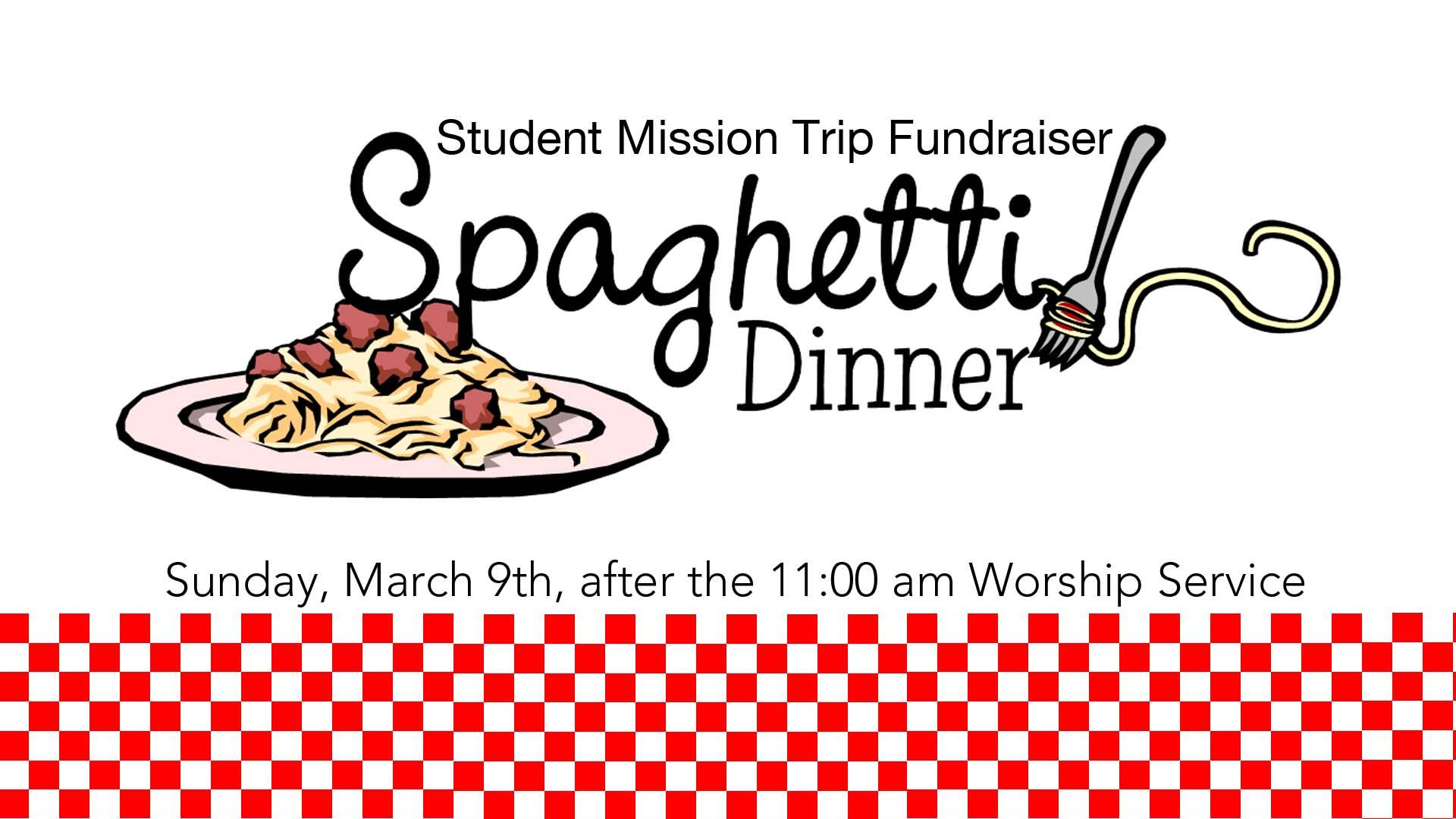 Free Spaghetti Dinner Fundraiser Flyer Template