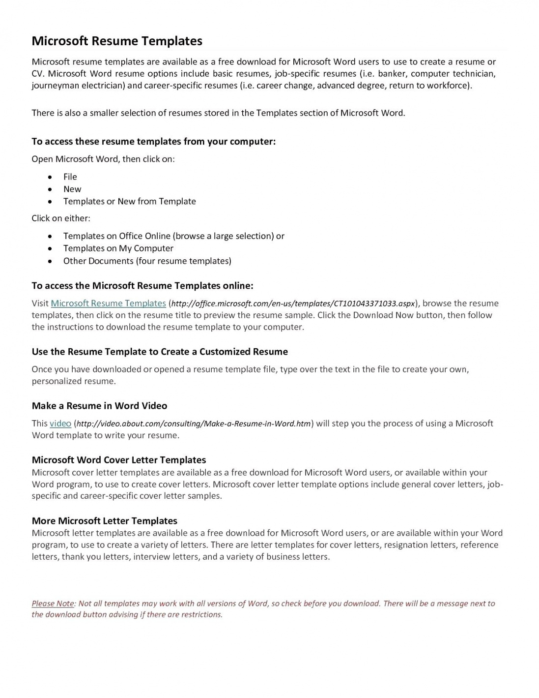 Free Teacher Resume Templates – Best Free Resume Builder 2019