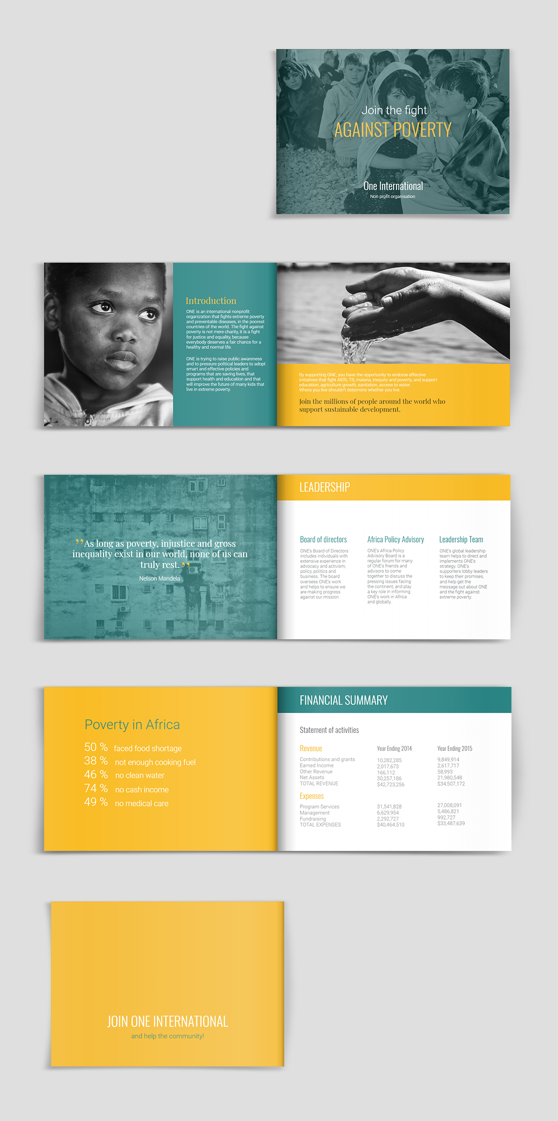 Fundraising Brochure Template
