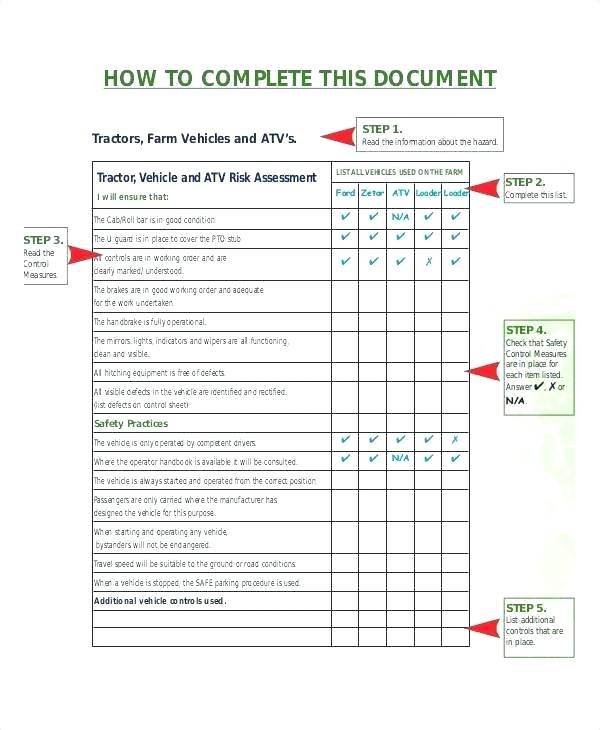 Gdpr Risk Assessment Template Xls