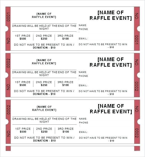 Generic Concert Ticket Template